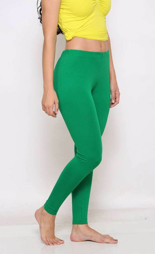 Green Ankle 4 way leggings