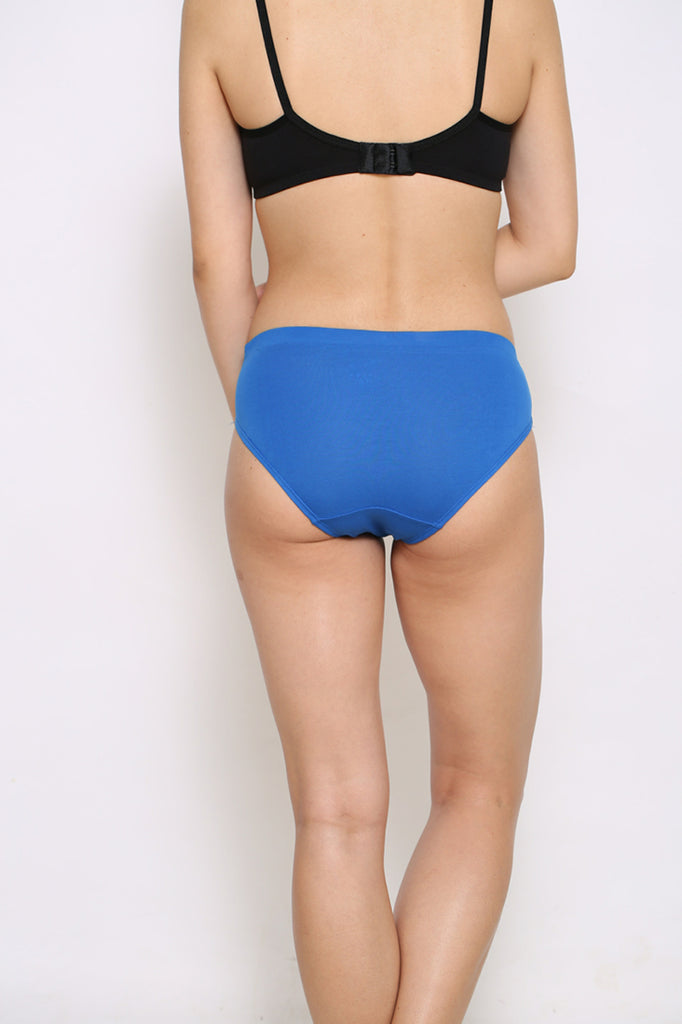 Back Side Hipster Brief With Royal Blue Color