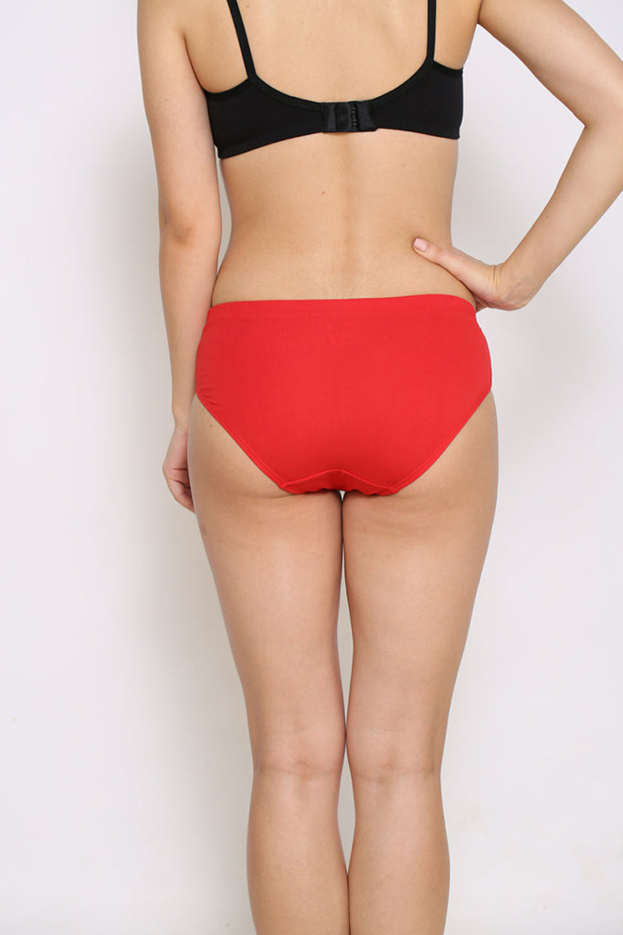 Back Side Hipster Brief With Royal Red Color