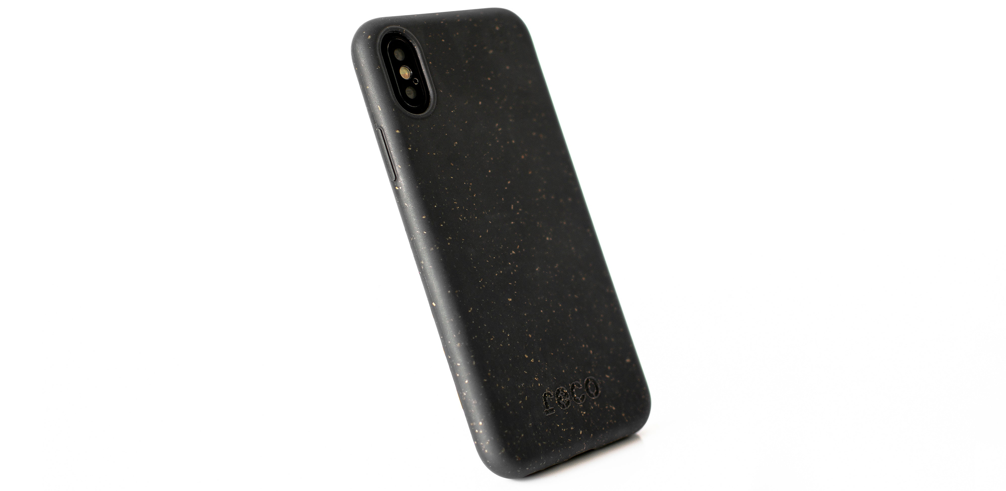 Biodegradable iphone case black