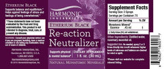 Re-action Neutralizer Etherium Black Spray