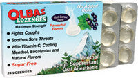 Olbas Black Currant Lozenges - Sugar Free