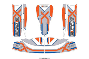 Exprit Sticker Kit - Suits M6 Bodywork(New Design)