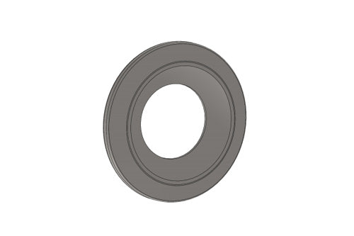 Parolin ROUNDED WASHER FOR STUB AXLE - BURNISHED