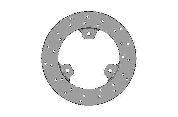 Parolin FRONT SELF-VENTILATED BRAKE DISC 150X13MM