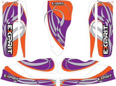 Exprit Sticker Kit - Suits M6 Bodywork(Old Design)