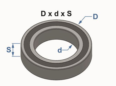 Parolin Stub Axle Bearing