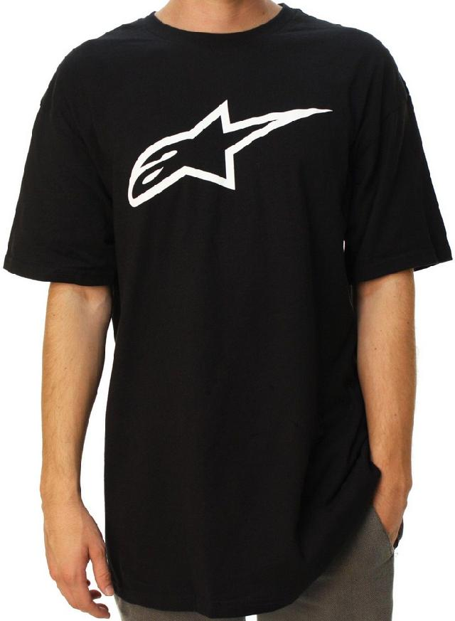 A/STARS - AGELESS T-SHIRT BLACK/WHITE - SMALL