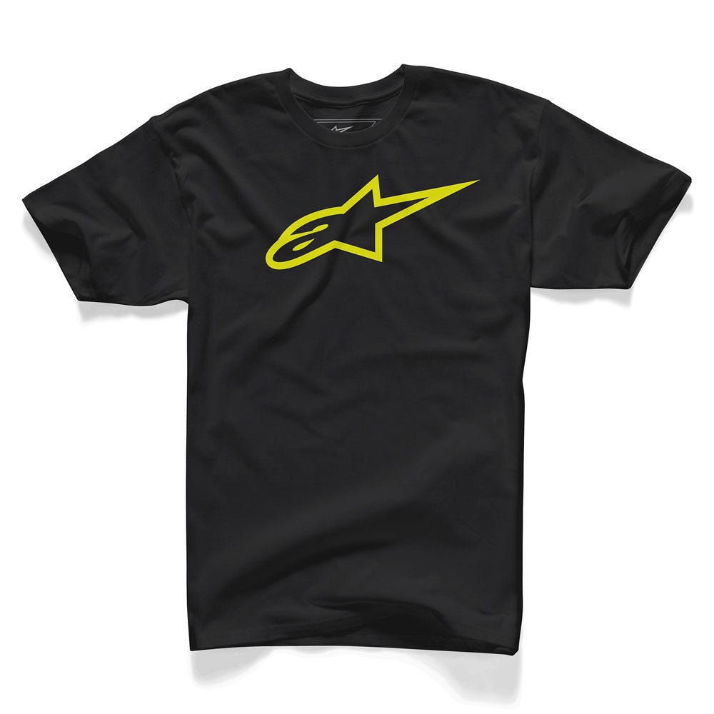 A/STARS - AGELESS T-SHIRT BLACK/YELLOW - X/LARGE
