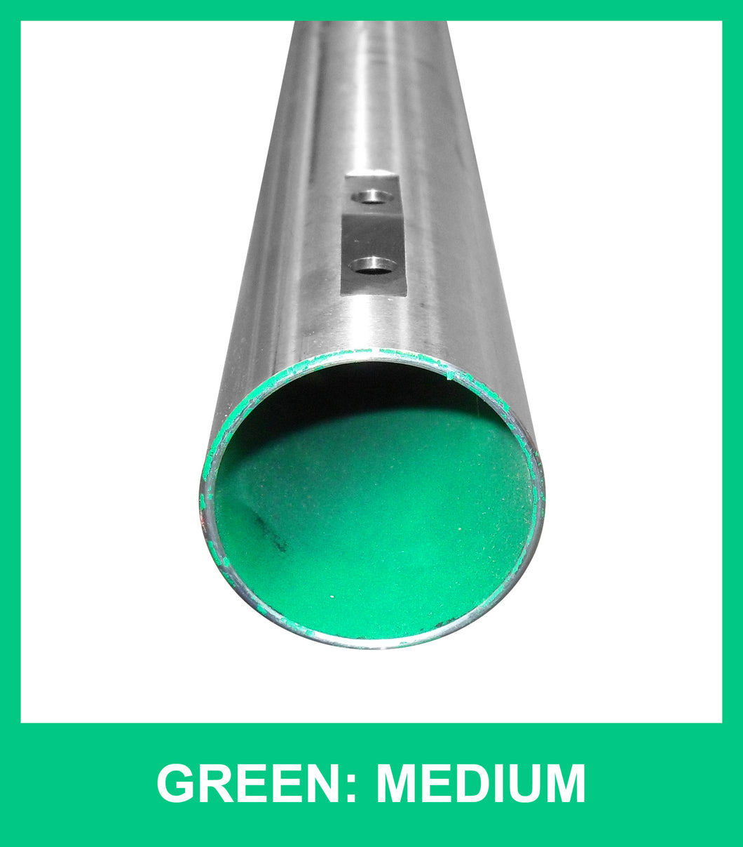 Axle 50mm x 1000mm Medium - GREEN
