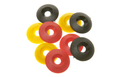 C/S Washer 30x8mm Plastic - Black