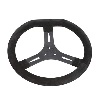 Steering Wheel - 340mm Black Flat Top