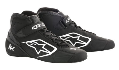 A/STARS -TECH 1-K BOOTS-BLACK/WHITE-43.5