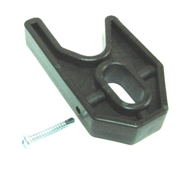 Stone - Plastic Holder for Trolley Oval 30x20mm