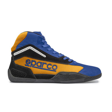 Sparco Gamma KB-4 Kart Boot Blue/Orange (AZAF) -42