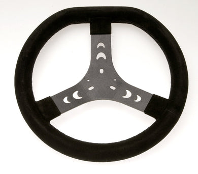 Steering Wheel - 320mm Black Flat Top