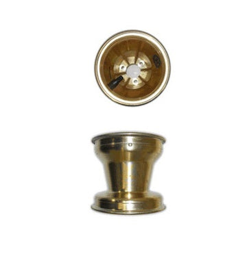 Front Wheel GOLD Magnesium 130mm - Bolt On