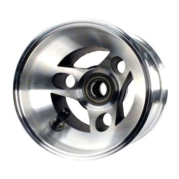 Front Wheel Aluminium 125mm - Bearing Type 17mm