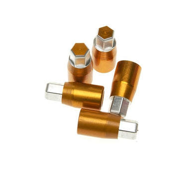 Aluminium Wheel Nut - Gold