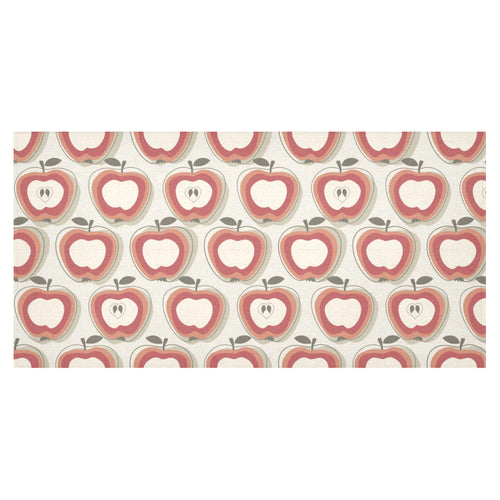 Red Apple Pattern Tablecloth