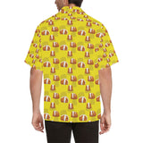 Guinea Pig Pattern Print Design 05 Men's All Over Print Hawaiian Shirt (Model T58)