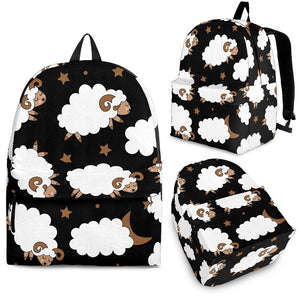 Cute Sheep Pattern Backpack