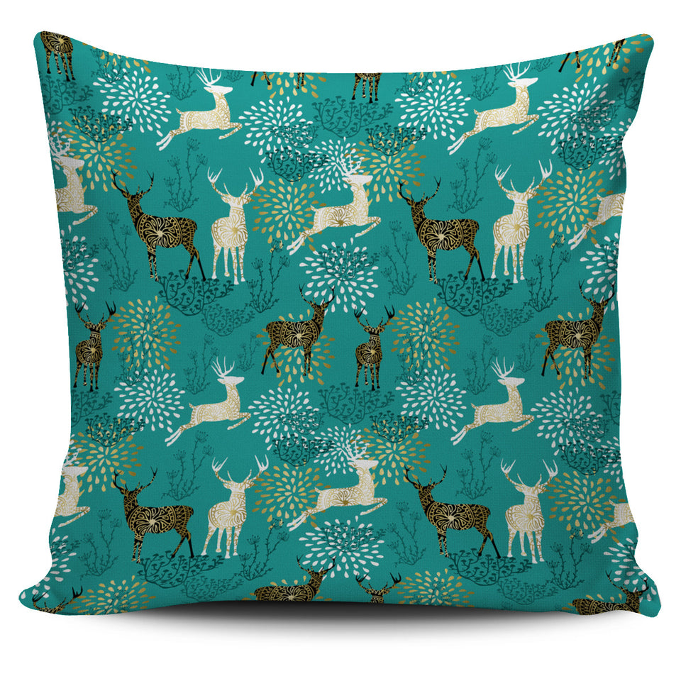 Deer Pattern Pillow Cover