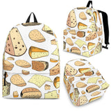 Cheese Pattern Theme Backpack
