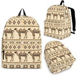Traditional Camel Pattern Ethnic Motifs Backpack
