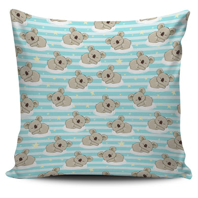 Sleep Koala Pattern Pillow Cover
