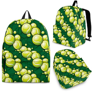 Tennis Pattern Print Design 04 Backpack