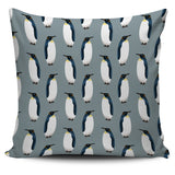 Penguin Pattern Theme Pillow Cover
