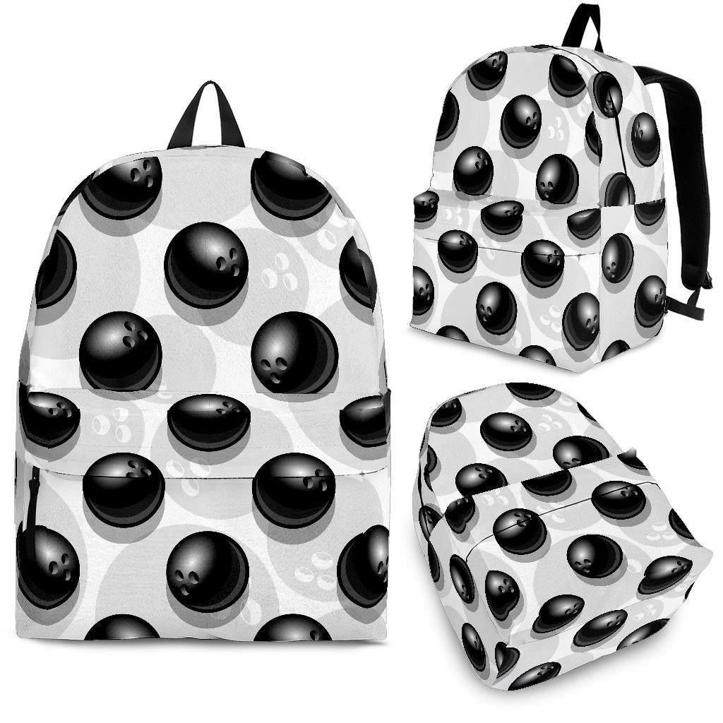 Bowling Ball Pattern Backpack