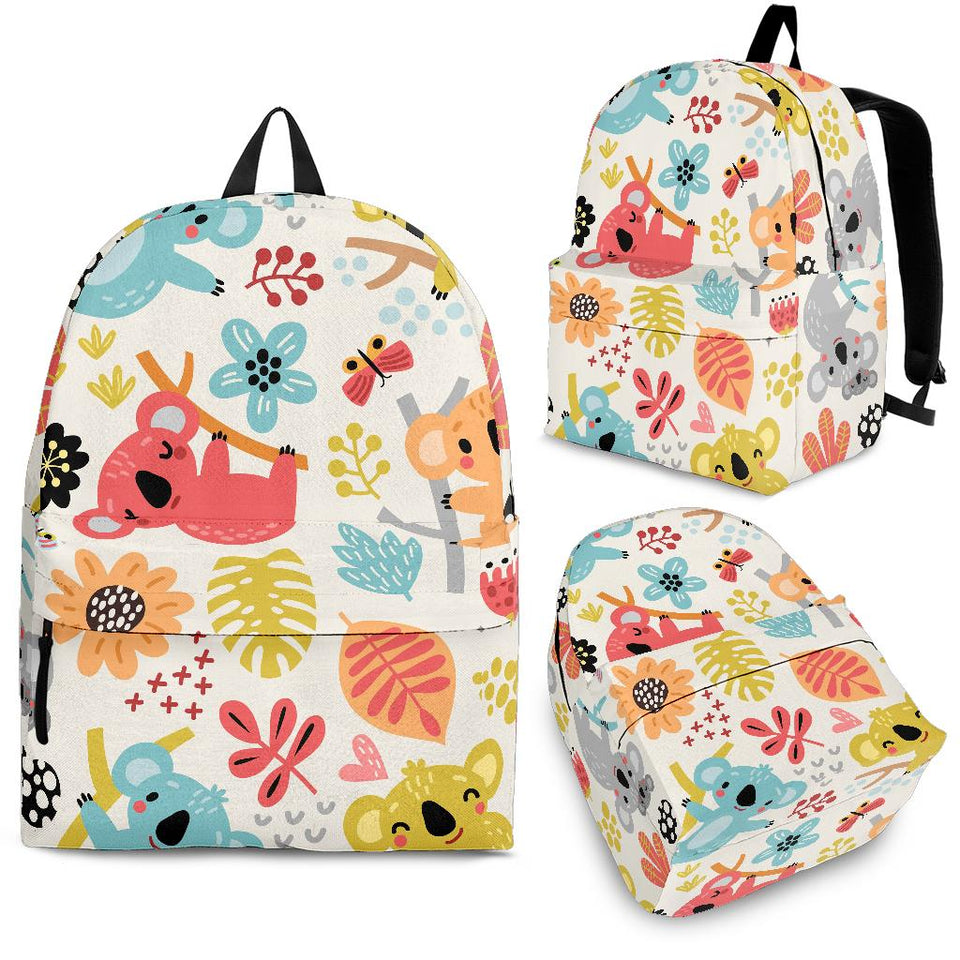 Cute Koala Pattern Backpack