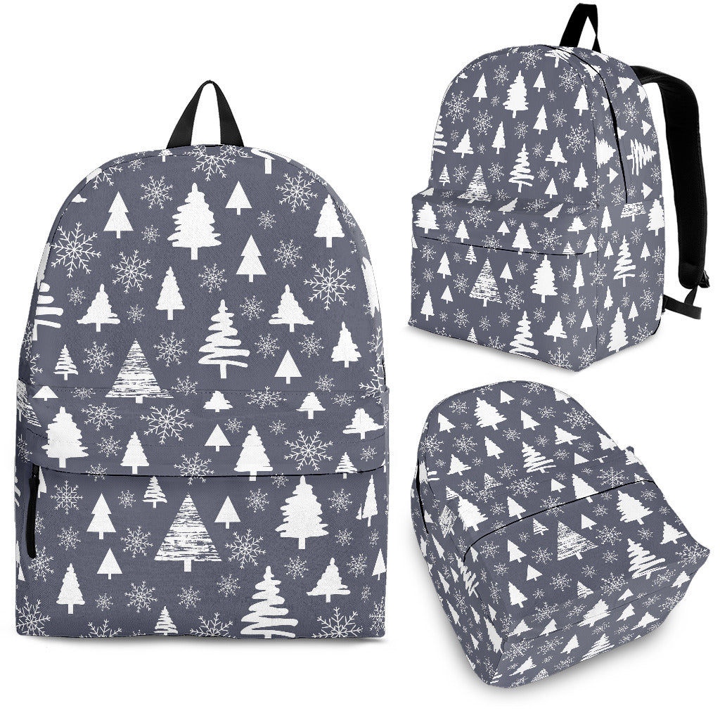 Snowflake Chirstmas Pattern Backpack