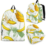 Banana Pattern Background Backpack