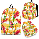 Heliconia Pattern Backpack