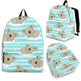 Sleep Koala Pattern Backpack