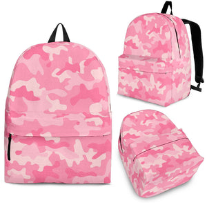 Pink Camo Camouflage Pattern Backpack