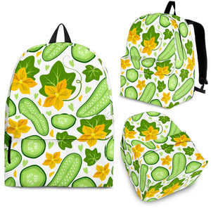 Cucumber Pattern Backpack