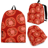 Sliced Tomato Pattern Backpack
