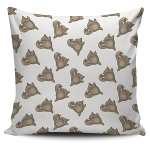 Sea Lion Pattern Pillow Cover