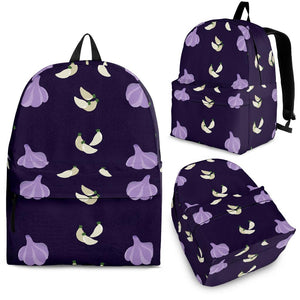 Garlic Pattern Background Theme Backpack