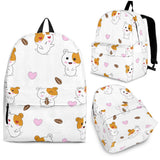 Hamster Seed Heart Pattern Backpack