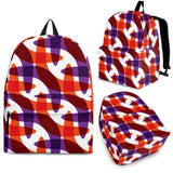 Boomerang Pattern Background Backpack