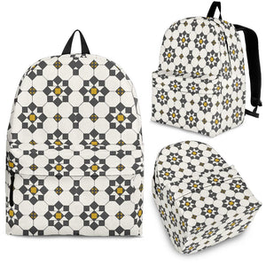 Arabic Morocco Pattern Background Backpack
