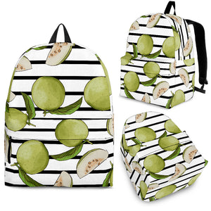 Guava Pattern Stripe background Backpack