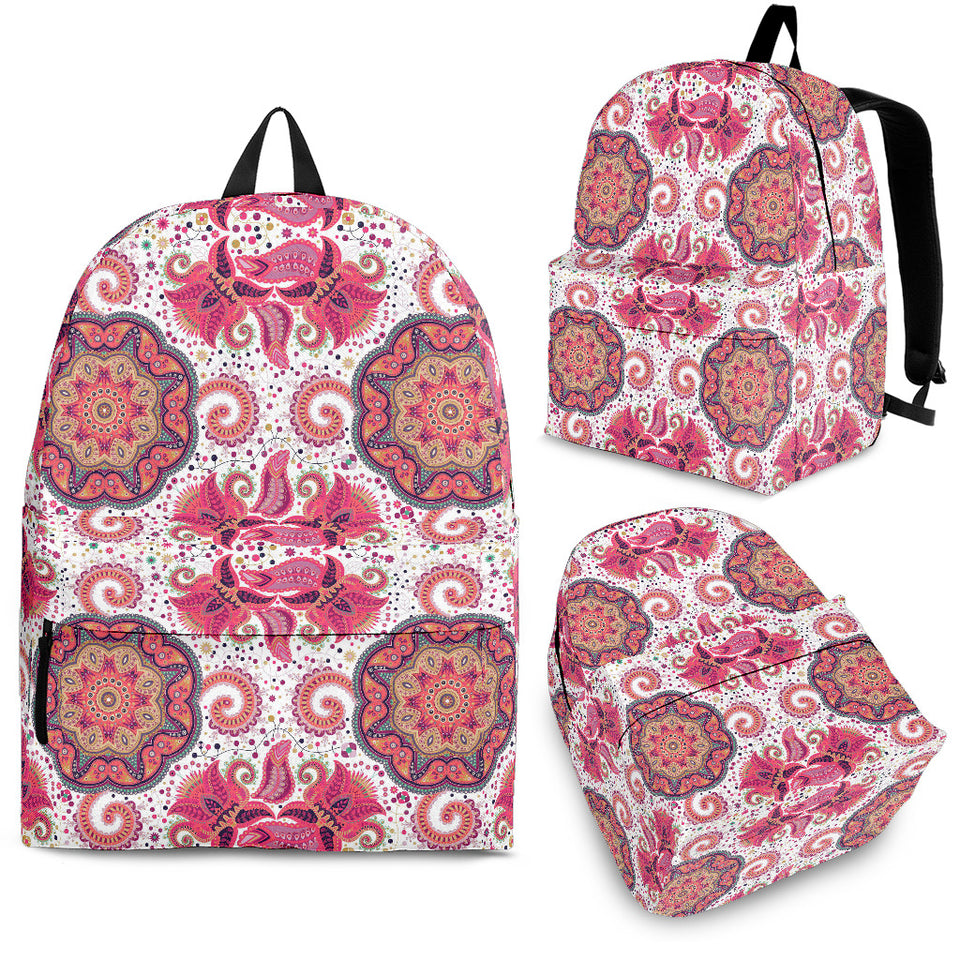 Indian Pattern Backpack