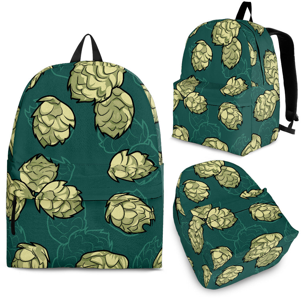 Hop Pattern Background Backpack