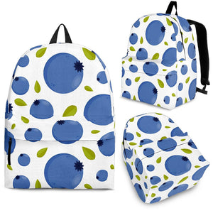 Blueberry Pattern Backpack